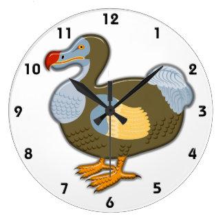 3D Dodo Bird Wall Clock