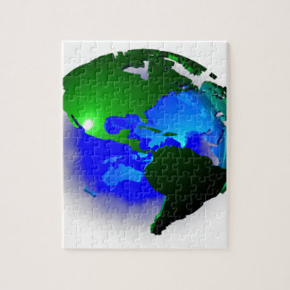 3d earth jigsaw puzzle
