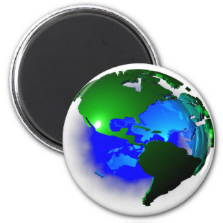 3d earth magnet