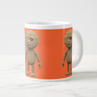 3d Egyptian Creepy Halloween Mummy Large Coffee Mug