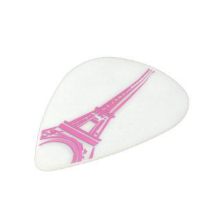3d Eiffel tower, France clipart Acetal Guitar Pick