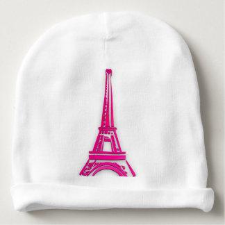 3d Eiffel tower, France clipart Baby Beanie