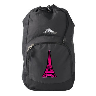 3d Eiffel tower, France clipart Backpack