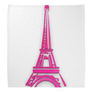 3d Eiffel tower, France clipart Bandana