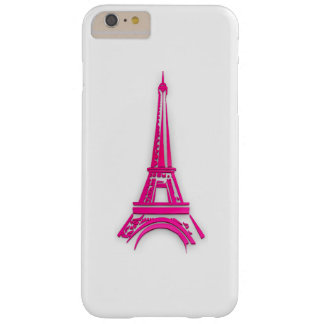 3d Eiffel tower, France clipart Barely There iPhone 6 Plus Case
