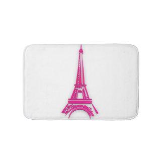 3d Eiffel tower, France clipart Bath Mat