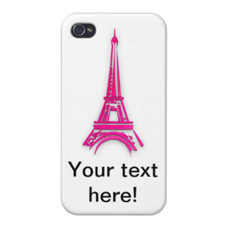 3d Eiffel tower, France clipart Case For iPhone 4