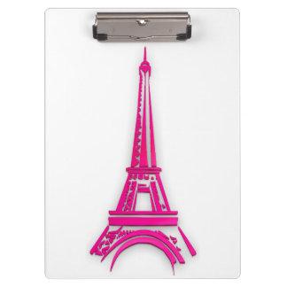 3d Eiffel tower, France clipart Clipboard