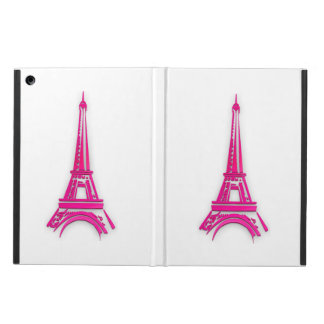 3d Eiffel tower, France clipart Cover For iPad Air
