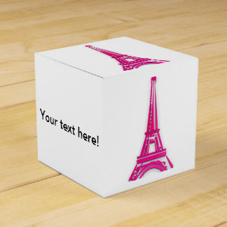 3d Eiffel tower, France clipart Favor Box