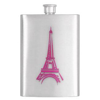 3d Eiffel tower, France clipart Flask