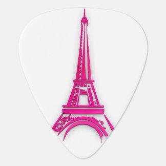 3d Eiffel tower, France clipart Guitar Pick