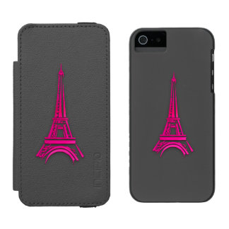 3d Eiffel tower, France clipart Incipio Watson™ iPhone 5 Wallet Case