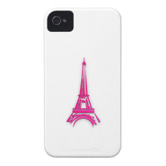 3d Eiffel tower, France clipart iPhone 4 Case-Mate Case