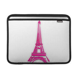 3d Eiffel tower, France clipart MacBook Air Sleeves