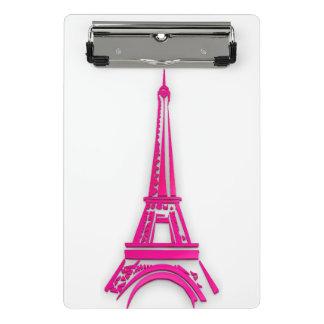 3d Eiffel tower, France clipart Mini Clipboard