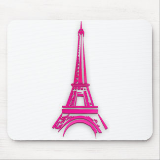 3d Eiffel tower, France clipart Mouse Pad