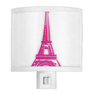 3d Eiffel tower, France clipart Night Lights