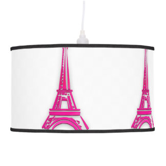 3d Eiffel tower, France clipart Pendant Lamp