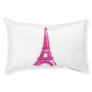3d Eiffel tower, France clipart Pet Bed