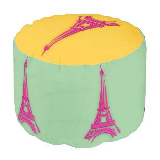 3d Eiffel tower, France clipart Pouf