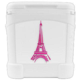 3d Eiffel tower, France clipart Rolling Cooler