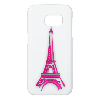 3d Eiffel tower, France clipart Samsung Galaxy S7 Case