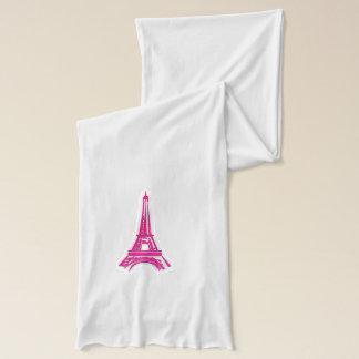 3d Eiffel tower, France clipart Scarf