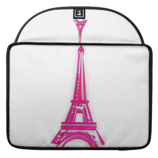3d Eiffel tower, France clipart Sleeve For MacBook Pro