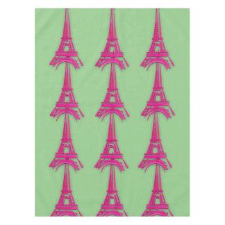 3d Eiffel tower, France clipart Tablecloth