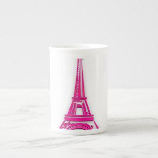 3d Eiffel tower, France clipart Tea Cup