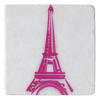 3d Eiffel tower, France clipart Trivet
