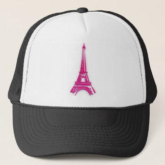 3d Eiffel tower, France clipart Trucker Hat