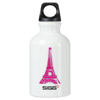 3d Eiffel tower, France clipart Water Bottle