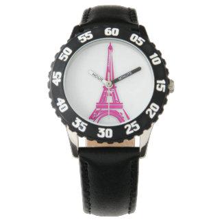 3d Eiffel tower, France clipart Wristwatch