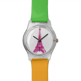 3d Eiffel tower, France clipart Wristwatches