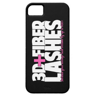 3D + Fiber Lashes iPhone 5 Case