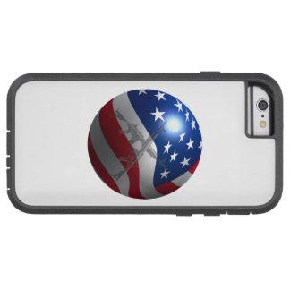 3D Flag Sphere Tough Xtreme iPhone 6 Case