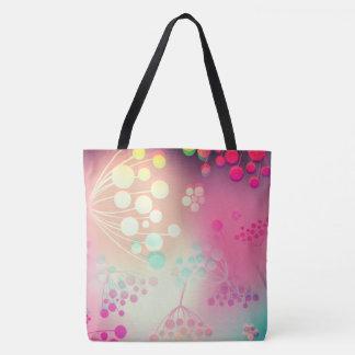 3D Floral Boom Tote Bag