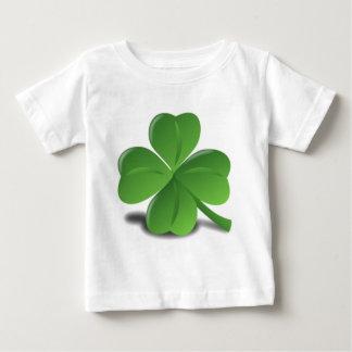 3D Four Leaf Clover Baby T-Shirt