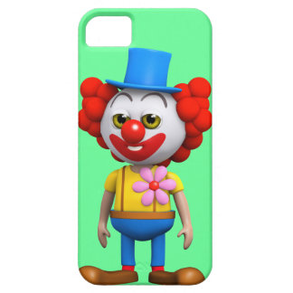 3d Funny Clown Case For The iPhone 5