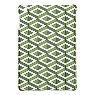 3d geometry greenery and kale case for the iPad mini