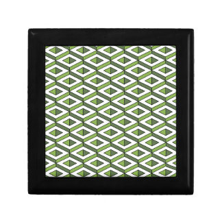 3d geometry greenery and kale gift boxes