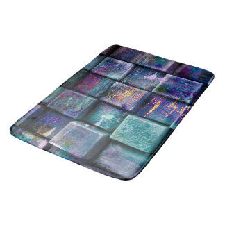 3d Glass Stones Bath Mat
