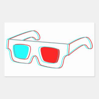 3D Glasses design - stickers