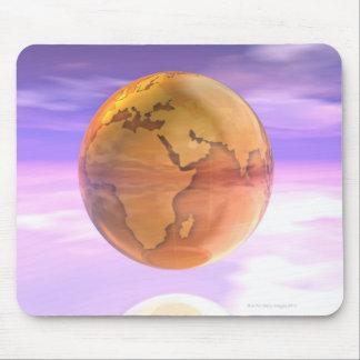 3D Globe 2 Mouse Pad