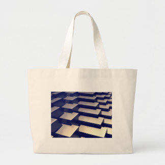 3D Gold Bars Large Tote Bag