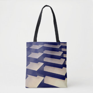 3D Gold Bars Tote Bag