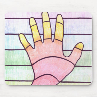 3D Hand Mouse Pad