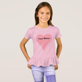 3D Heart Ruffle Shirt